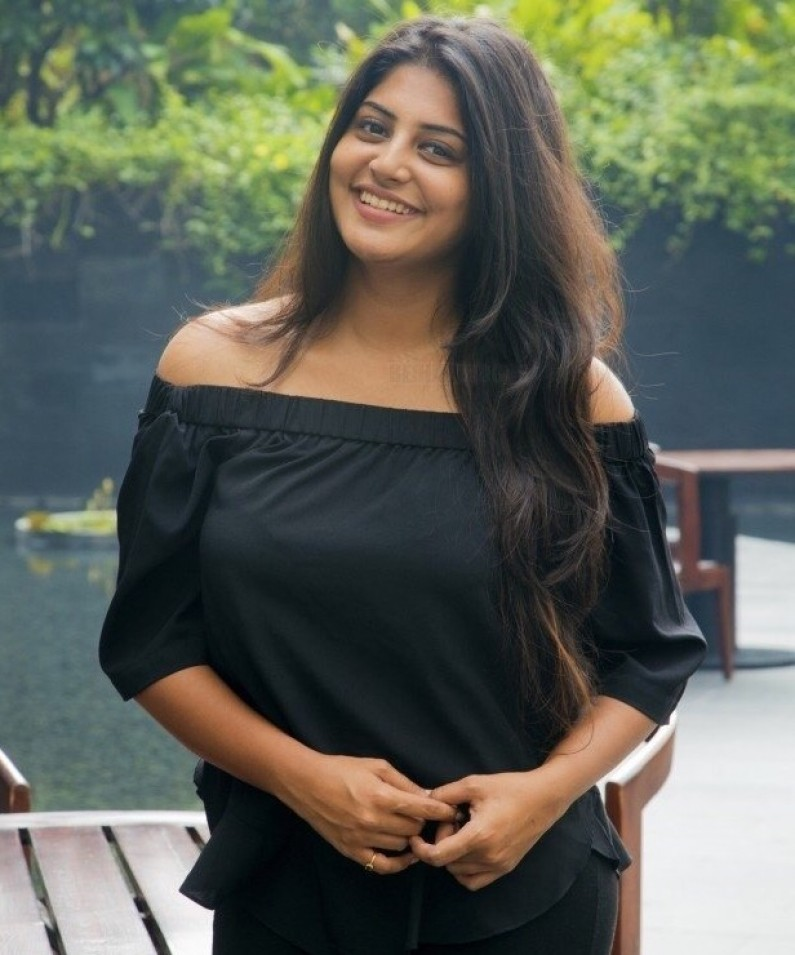 Manjima Mohan Backless Images