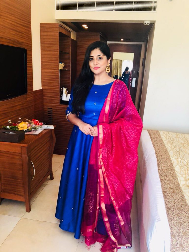 Manjima Mohan Gown Pictures