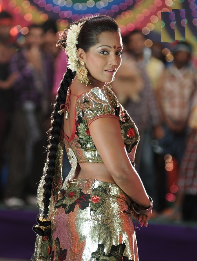 Meghna Naidu Backless Pictures