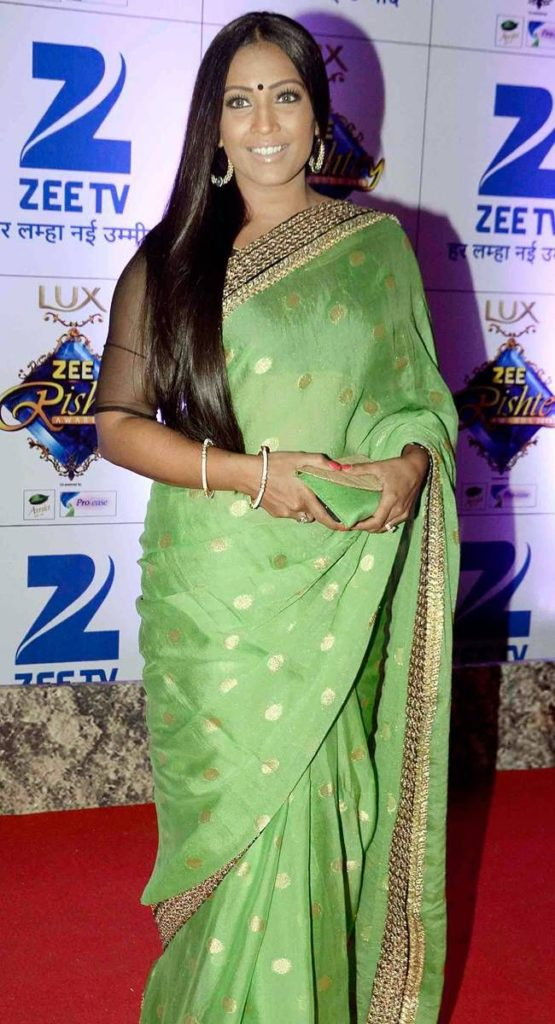 Meghna Naidu Gown Images