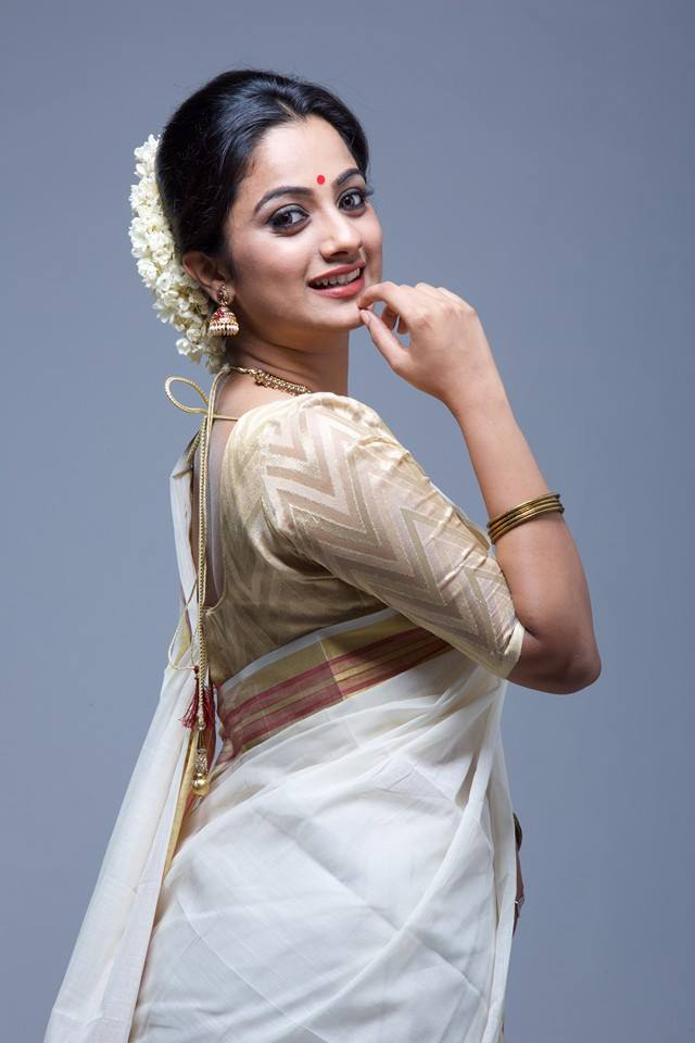 Namitha Pramod Backless Images