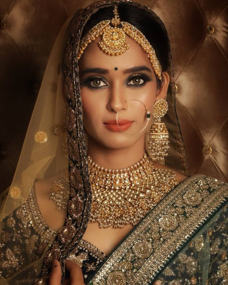 Neha Saxena Bride Look Images