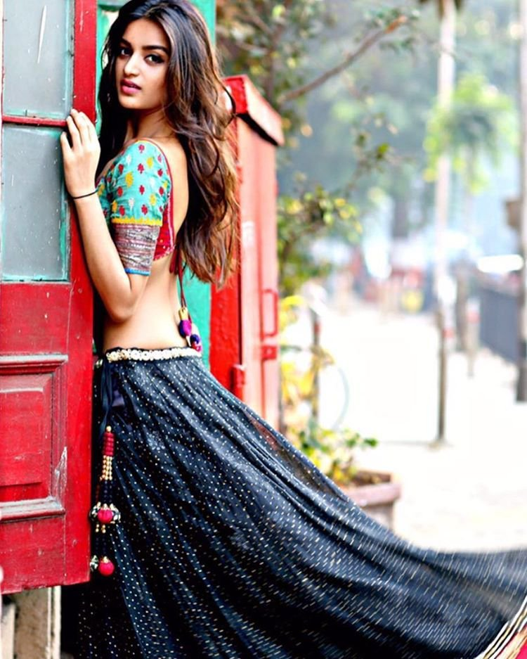 Nidhhi Agerwal Backless Pictures