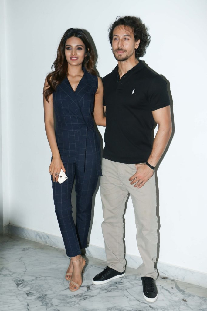 Nidhhi Agerwal With Tiger Shroff Images