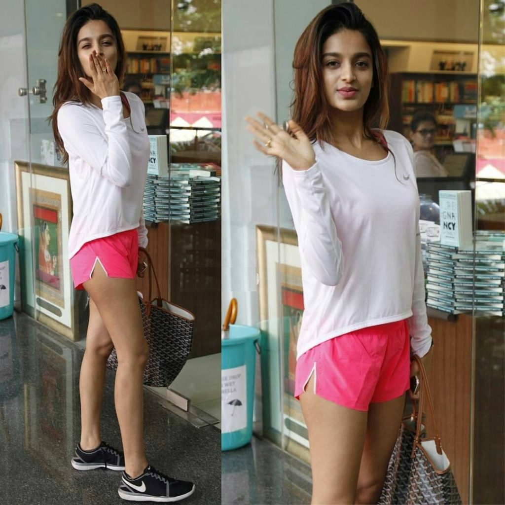 Nidhhi Agerwal Workout Images