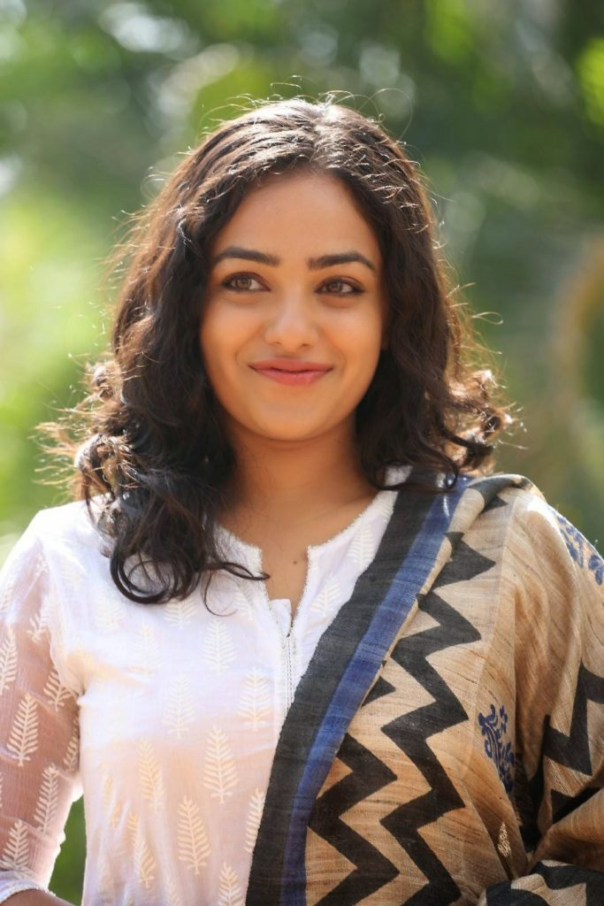 Nithya Menen Sexy Eyes Images