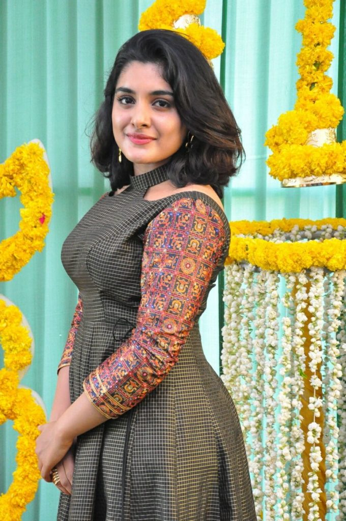 Nivetha Thomas Muscles Pictures